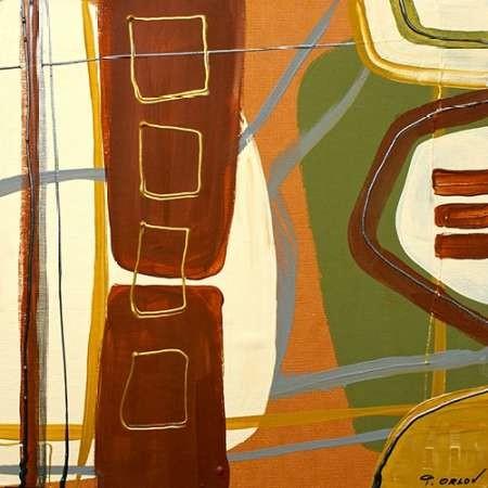 Simplicity I Digital Print by Orlov, Irena,Abstract