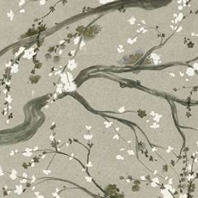 Neutral Cherry Blossoms II Digital Print by Popp, Grace,Decorative