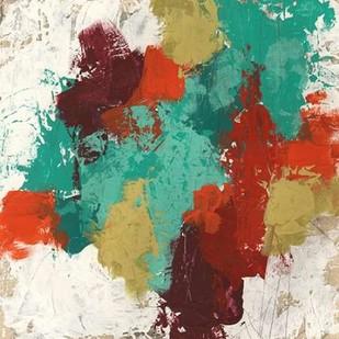 Kaleidoscope Signals II Digital Print by Vess, June Erica,Abstract
