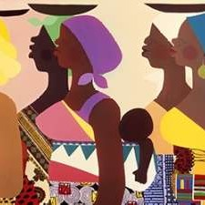African Women Digital Print by Honeywood, Varnette,Pop Art
