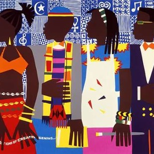 Generations Digital Print by Honeywood, Varnette,Pop Art