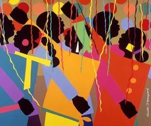 Party Digital Print by Honeywood, Varnette,Pop Art