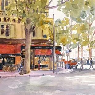 Early Morning Paris Digital Print by Fagan, Edie,Impressionism