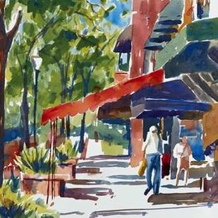 Park Avenue Digital Print by Fagan, Edie,Impressionism