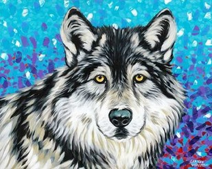 Grey Wolf II Digital Print by Vitaletti, Carolee,Decorative