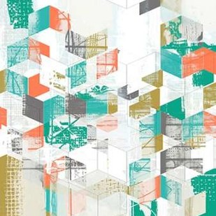 Box Grid I Digital Print by Goldberger, Jennifer,Abstract
