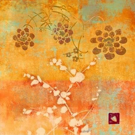 Ginger Fall I Digital Print by Evelia Designs,Impressionism