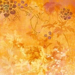 Ginger Fall II Digital Print by Evelia Designs,Impressionism