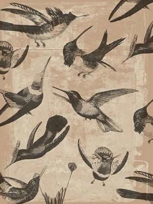 Bird Pattern I Digital Print by Goldberger, Jennifer,Decorative