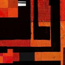 Being There II Digital Print by Orlov, Irena,Abstract