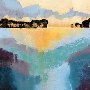 Back Bay Sun II Digital Print by Popp, Grace,Impressionism