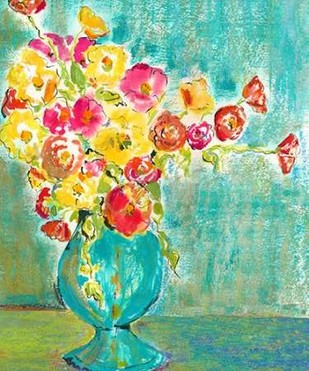 Pastel Vase I Digital Print by Minasian, Julia,Impressionism