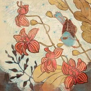 Spice and Whimsy II Digital Print by Evelia Designs,Decorative