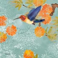 Blue Aurora I Digital Print by Evelia Designs,Decorative