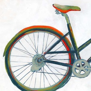 Bicycle Diptych I Print By Popp, Grace