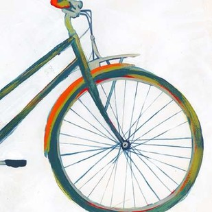 Bicycle Diptych II Digital Print by Popp, Grace,Pop Art