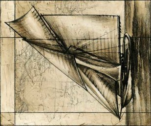 Tradewinds I Digital Print by Harper, Ethan,Illustration