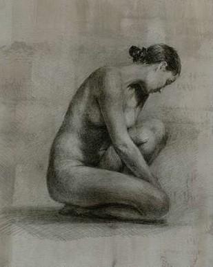 Classic Figure Study I Digital Print by Harper, Ethan,Illustration