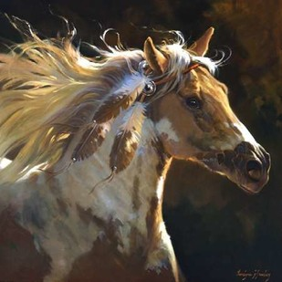 Spirit Horse Digital Print by Hawley, Carolyne,Realism
