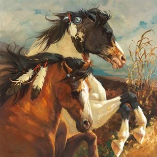 Wind Voyager Digital Print by Hawley, Carolyne,Realism