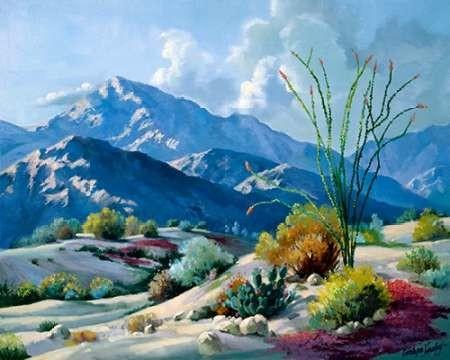 Desert Serenade Digital Print by Hawley, Carolyne,Impressionism