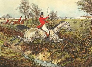 The English Hunt I Digital Print by Henry, Alken,Impressionism
