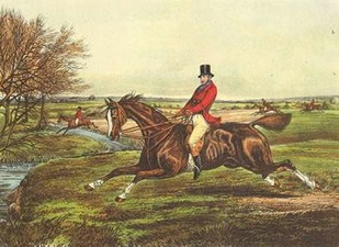 The English Hunt II Digital Print by Henry, Alken,Impressionism