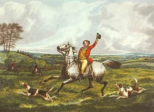 The English Hunt VI Digital Print by Henry, Alken,Impressionism