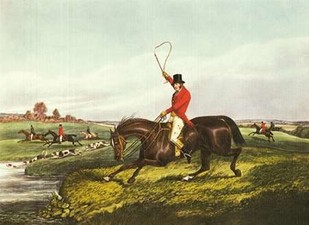The English Hunt VIII Digital Print by Henry, Alken,Impressionism