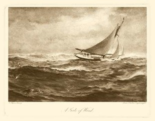A Gale of Wind Digital Print by Henry, Napier,Realism