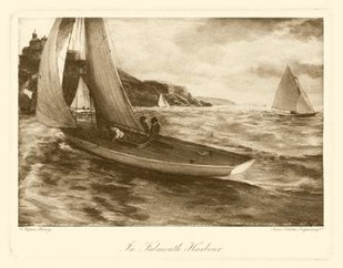 Falmouth Harbor Digital Print by Henry, Napier,Realism