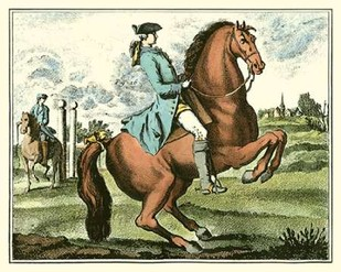 Equestrian Training III Digital Print by Diderot, Denis,
