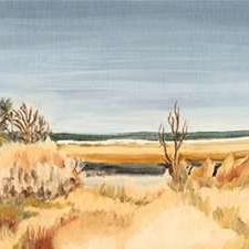 The Sound Shoreline II Digital Print by Dianne Miller,Impressionism