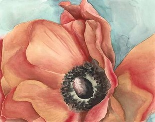 Watercolor Poppy I Digital Print by Megan Meagher,Impressionism