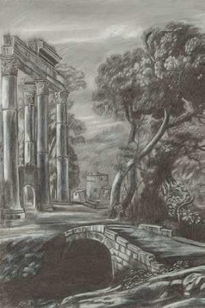 Classical Landscape Triptych I Digital Print by Naomi McCavitt,Impressionism
