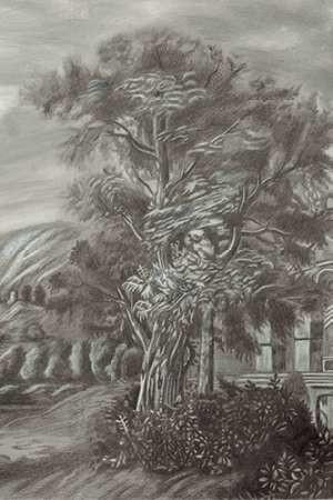 Classical Landscape Triptych III Digital Print by Naomi McCavitt,Impressionism
