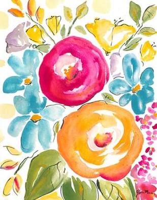 Flower Delight I Digital Print by Minasian, Julia,Impressionism
