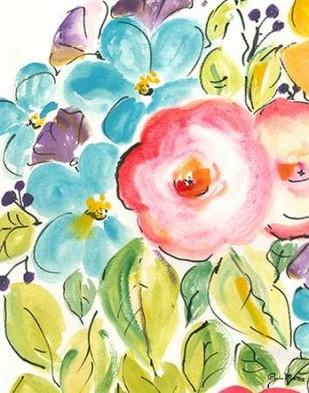Flower Delight II Digital Print by Minasian, Julia,Impressionism