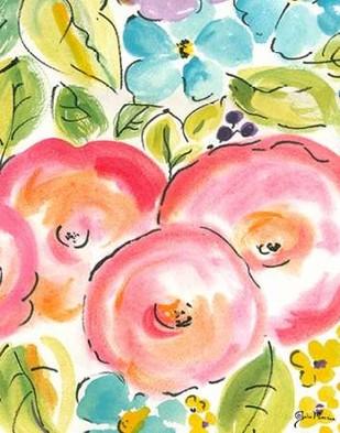 Flower Delight III Digital Print by Minasian, Julia,Impressionism