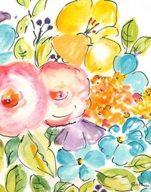 Flower Delight IV Digital Print by Minasian, Julia,Impressionism