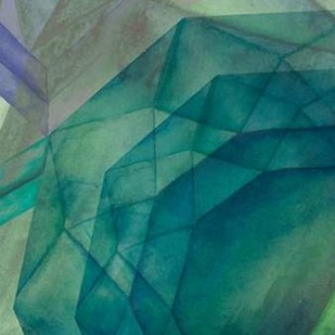 Gemstones II Digital Print by Popp, Grace,Geometrical