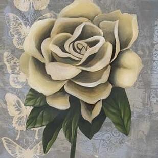 Blissful Gardenia II Digital Print by Popp, Grace,Decorative