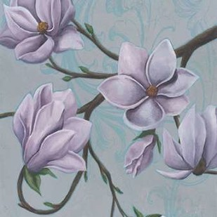 Branches of Magnolia I Digital Print by Popp, Grace,Decorative