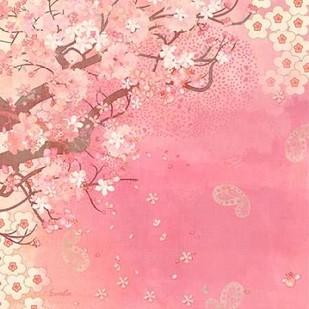 Tokyo Cherry II Digital Print by Evelia Designs,Decorative