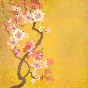 Tokyo Cherry IV Digital Print by Evelia Designs,Decorative