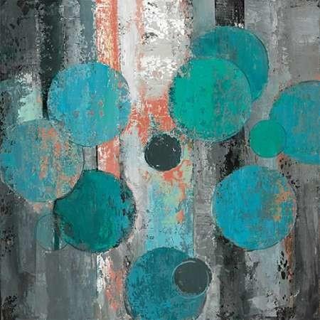 Spherical Flow I Digital Print by Joy, Julie,Abstract