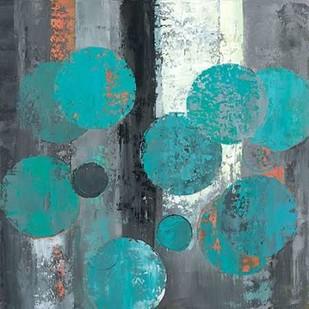 Spherical Flow II Digital Print by Joy, Julie,Abstract