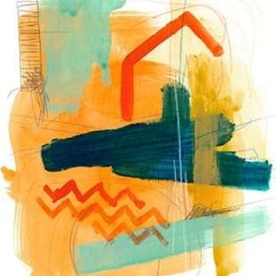 Fringe Aspect V Digital Print by Vess, June Erica,Abstract