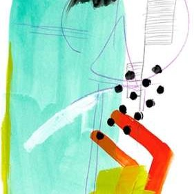 Fringe Aspect IX Digital Print by Vess, June Erica,Abstract