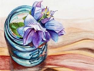 Ball Jar Flower IV Digital Print by Redstreake,Impressionism